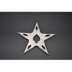TS5.4 Throwing stars. Ninja star. Shurikens - 5