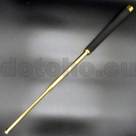 T11 Telescopic baton with foam rubber handle - 65 cm - GOLD
