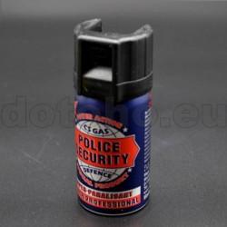 P09 CS Gas Spray POLICE Security - 40 ml