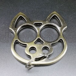 KA5.0 Self Defense Protection metal key ring Skull - Brass Knuckles