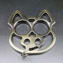 KA5.0 Self Defense Protection metal key ring Skull - Brass Knuckles
