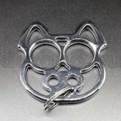 KA5.1 Self Defense Protection metal key ring Skull - Brass Knuckles