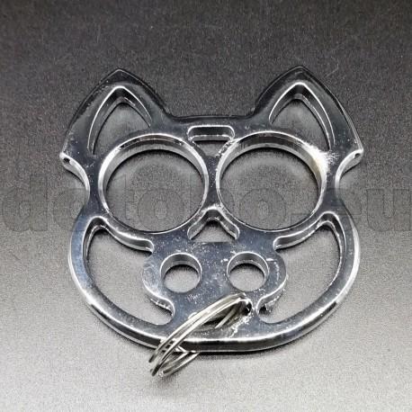 KA5.1 Self Defense Protection metal key ring Skull - Brass Knuckles