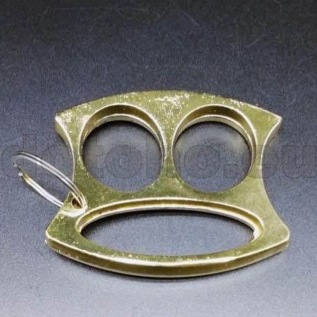 KA3.2 Self Defense Protection metal key ring - Brass Knuckles