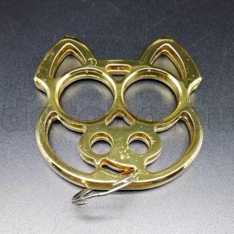 KA5.2 Self Defense Protection metal key ring Skull - Brass Knuckles
