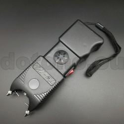 S12 Stun Gun + LED Flashlight + Signal 120db - 3 in 1