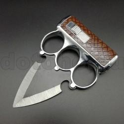 K21 Brass Knuckles with lighter