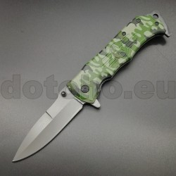PK15 Knife - One Hand Knife Semiautomatic - Pocket Knives