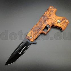 PK81 Spring Assisted Pistol Knife Semiautomatic