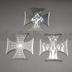 TS10 Throwing stars. Ninja star. Shurikens