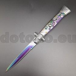 """PK43.1 Automatic knife Italian Stiletto - """"Mafia"""""""
