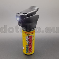 P27 Pepper spray with flashlight POLICE TORNADO ESP 50 ml